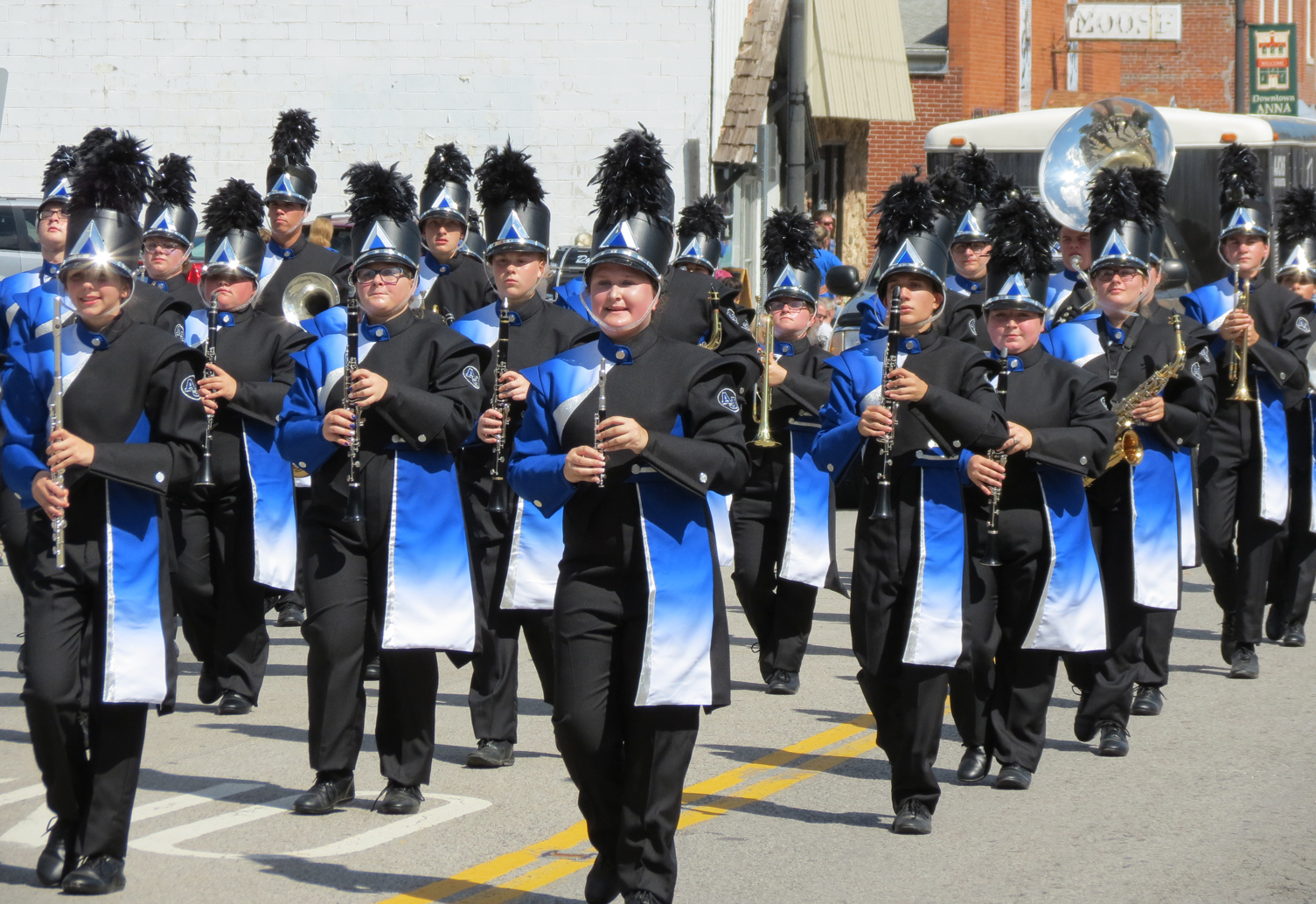 Anna-Jonesboro Community High School band.