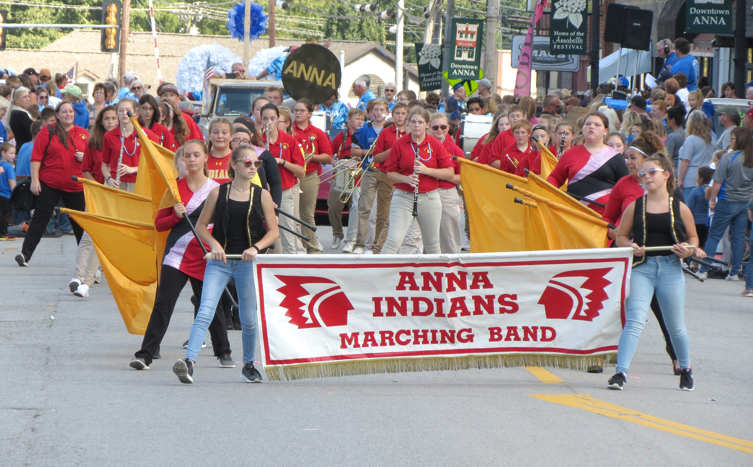 Anna School District 37 band
