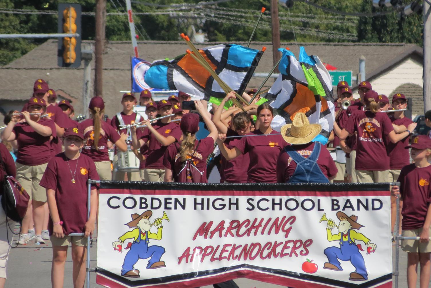 Anna-Jonesboro Community High School band