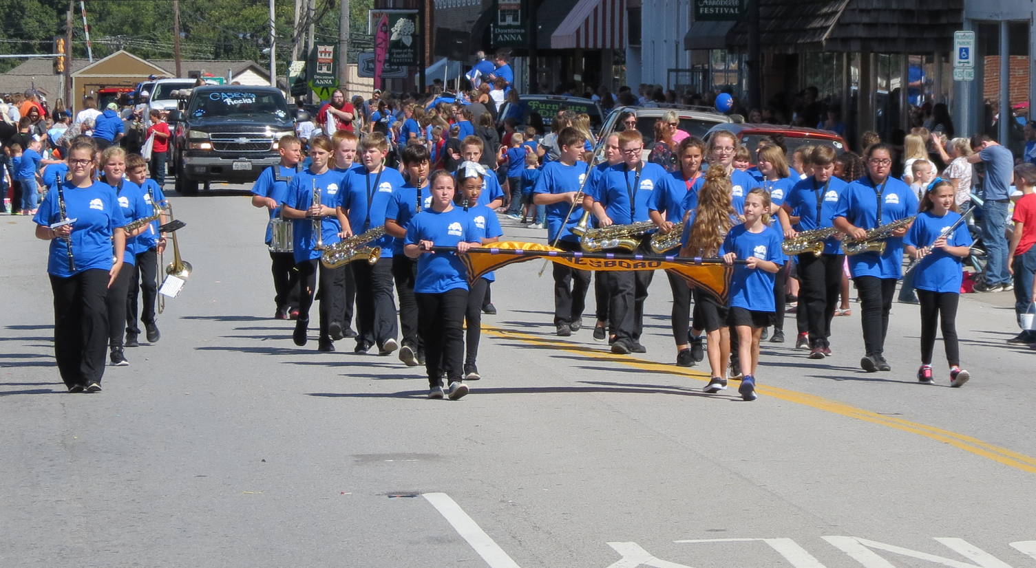 Jonesboro School marching band