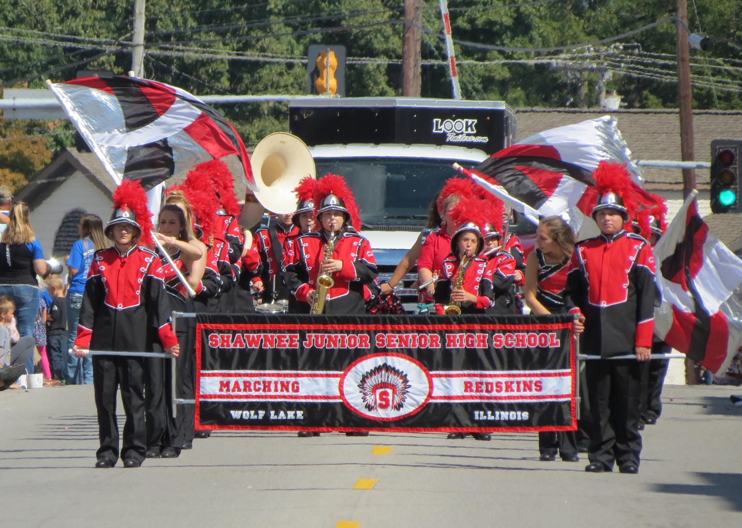 Shawnee High School marching band