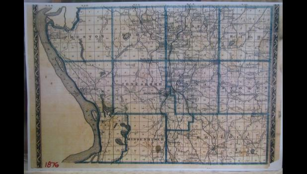 A couple of fellow travelers on The Journey Through Life recently shared the accompanying map with me. The map, featuring Union County, dates to 1876, a time when men were men, including General George Armstrong Custer, who should have been a much smarter man. Just sayin'...