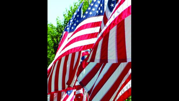 """""""...the flag of the United States shall be of thirteen stripes of alternate red and white, with a union of thirteen stars of white in a blue field, representing the new constellation."""""""