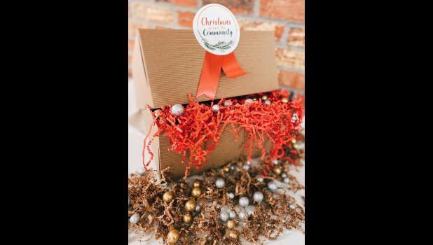 """The Union County CEO program is creating and selling """"Christmas Around the Community"""" gift boxes."""
