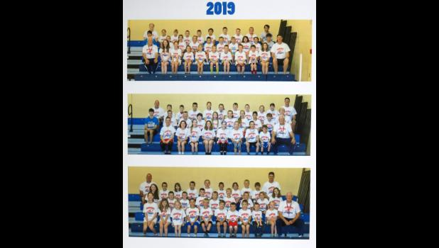 Participants in Coach Ron's Sports Speed Development Camp, Basketball 101 Camp conducted June 17-20 at Jonesboro are featured in the pictures above. In the top picture are the 4th and 5th grade student athletes. In the middle picture are the 6th, 7th and 8th grade student athletes. In the bottom picture are the 2nd and 3rd grade student athletes. Photos by Tiffiny Dillow for The Gazette-Democrat.