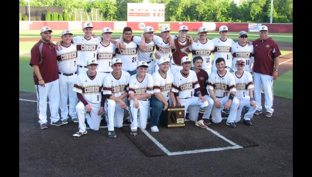 The Cobden High School baseball team defeated Egyptian to win an Illinois High School Association Class 1A regional championship last week. Cobden rallied to win the regional title game, which was played at Southern Illinois University Carbondale