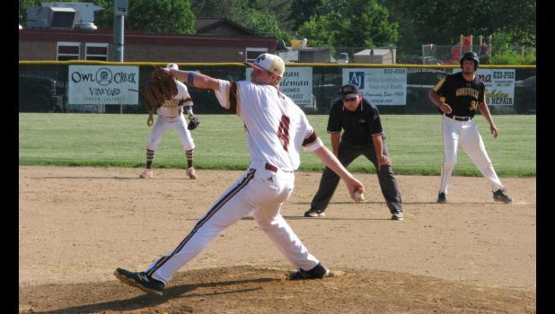 Cobden pitcher