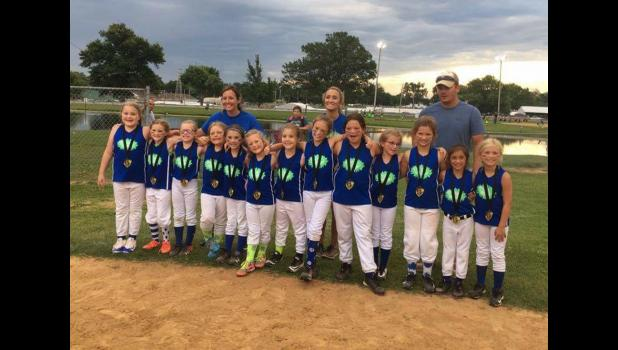 8U: Flame Throwers, second place.