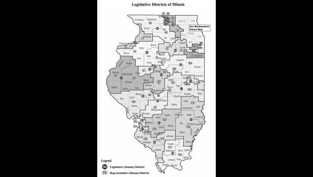 Union County is in two Illinois State Senate districts and two Illinois State Representative districts. The county is in the 58th and 59th State Senate districts. In the 58th District, the county is represented by State Sen. Paul Schimpf, R-Waterloo. In the 59th District, the county is represented by State Sen. Dale Fowler, R-Harrisburg. The county is in the 115th and 118th State Representative districts. In the 115th District, the county is represented by State Rep. Terri Bryant, R-Murphysboro. In the 118t