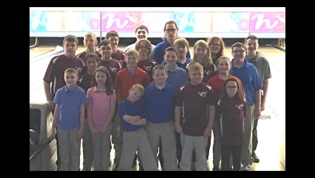The Saturday Maniacs Youth Bowling League was represented at recent state competition in Peoria and Pekin. Photo provided.