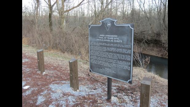 A marker along Illinois Route 146 between Jonesboro and Ware (or Ware and Jonesboro, if you happen to be heading the other way) recalls several important stories in the history of Union County.