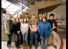 Members of Century's varsity dairy team were Samuel Lipe, Taylor Anderson, Ben Miller, Carli Junker and Umarra Winfield. On the junior varsity dairy team were Maddie Schnaare, Mason Clark, Lanie Dillow, Morgan Miller and Macie Keisler. Umarra Winfield took fifth overall among dairy competitors. Photo provided.