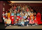 Shawnee Community College's Future Teacher Organization, FTO, sponsored a Saints Read Celebration on Saturday, Feb. 25, to honor elementary school students who participated in the literacy program for the current school year. Shawnee Community College photo.