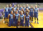 The Anna-Jonesboro Community High School girls' basketball team finished in 5th place at the Eldorado Winter Classic. Photo provided.