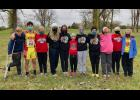 Members of the Anna Junior High School cross country team include Beckett Thorpe, Wyatt Wright, Presley Bierstedt, Brooklyn Eastman, Kaitlyn Matuszewich, Liz Hammer, Kayla Matuszewich, Kansas Craig, Tess Wilkins, Kayma Dawson and Raelynn Sadler. Photo provided.