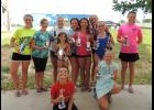 The Anna Blue Dolphins swim team recently completed its 2017 season. The team had an awards night last week.